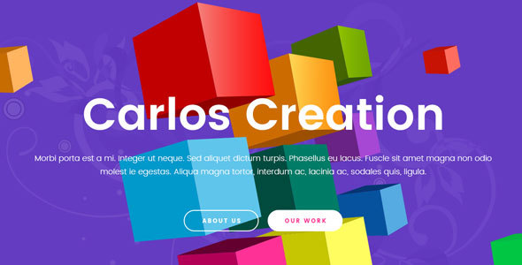 Carlos – Creative Agency Template