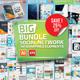 Bundle Social Network Infographics - GraphicRiver Item for Sale