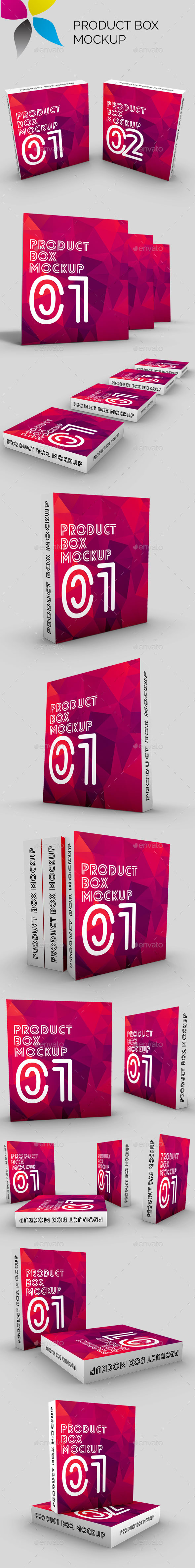 Product Box Mockup - Miscellaneous Packaging