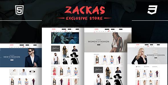 Zackas – WooCommerce WordPress Theme - WooCommerce eCommerce