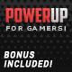 PowerUp - Video Game Theme for WordPress