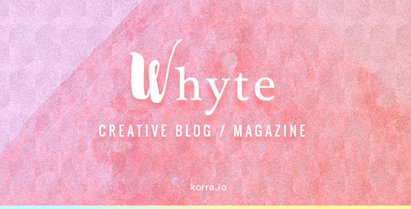 Whyte | Creative WP Theme