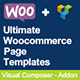 Ultimate Woocommerce Page Templates Builder | Visual Composer add-on