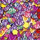 Flower Particular Background