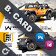 Car Sales Business Card Templates - GraphicRiver Item for Sale