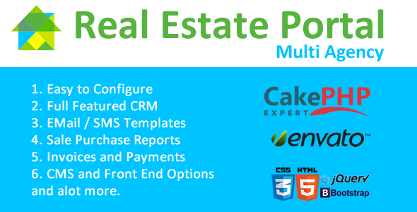 Real Estate Portal - CodeCanyon Item for Sale