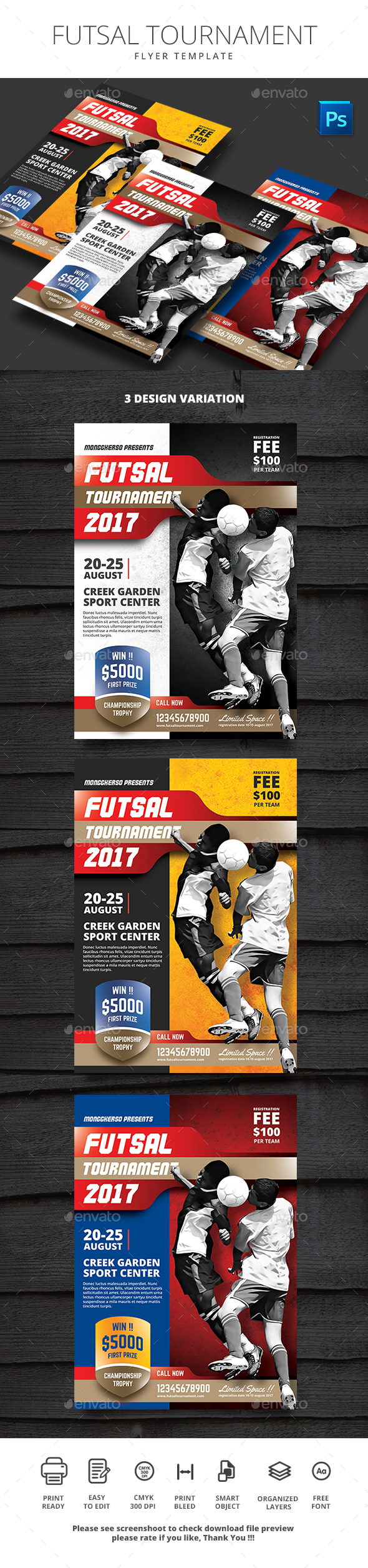 Futsal Tournament - Sports Events