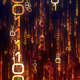 Golden Matrix Data Flow - VideoHive Item for Sale