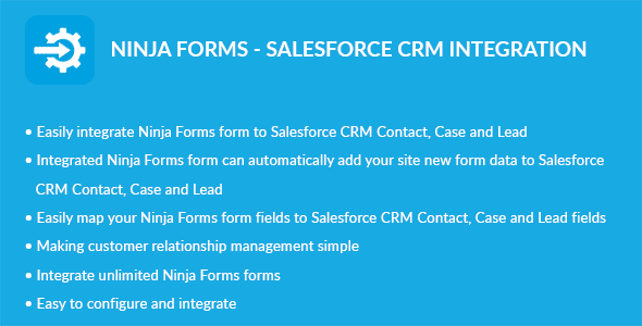 Ninja Forms - Salesforce CRM Integration - CodeCanyon Item for Sale