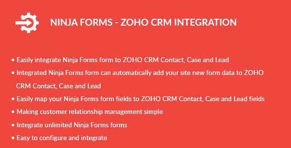 Ninja Forms - ZOHO CRM Integration - CodeCanyon Item for Sale