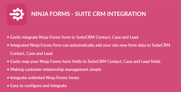 Ninja Forms - Suite CRM Integration - CodeCanyon Item for Sale
