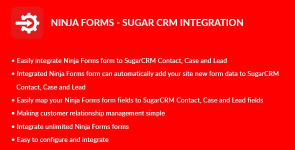 Ninja Forms - Sugar CRM Integration - CodeCanyon Item for Sale