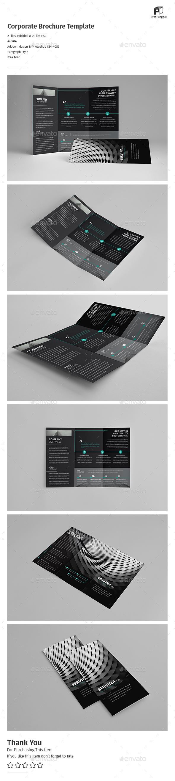 Business Trifold Vol.11 - Corporate Brochures