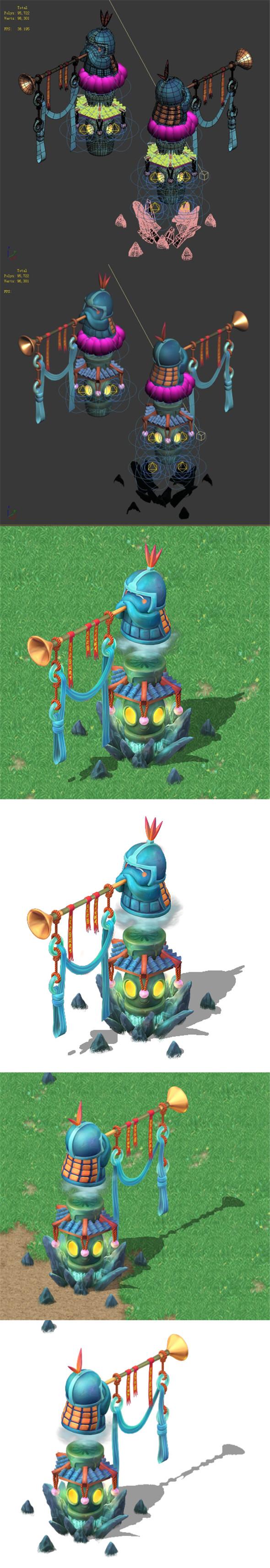 Cartoon Sky City - welcome speaker - 3DOcean Item for Sale