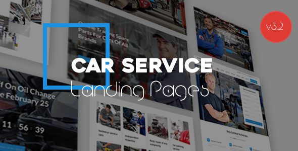 Avados - Car Service Landing Pages with Page Builder - Business Corporate
