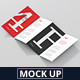 4-Fold Brochure Mockup - DL 99x210mm - GraphicRiver Item for Sale
