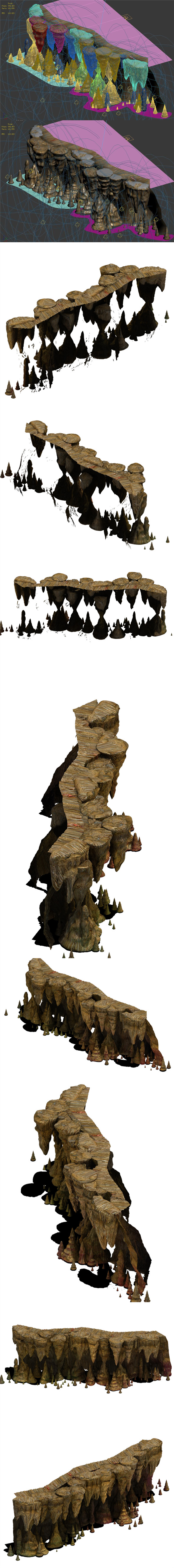 Ancient ruins - mountain - 3DOcean Item for Sale