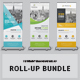 Roll-Up Banner Bundle_3 in 1 - GraphicRiver Item for Sale