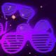 Disco Glasses Color Neon - VideoHive Item for Sale
