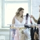 Fashion Designer Shows To Woman Latest Collection of Lingerie in Atelier.