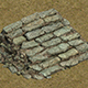 Field - stone steps 032 - 3DOcean Item for Sale