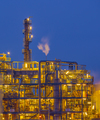 Detail of Chemical plant in twilight - PhotoDune Item for Sale
