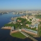 Aerial View of Peter and Paul Fortress - VideoHive Item for Sale