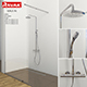 Shower room Ravak Walk-in - 3DOcean Item for Sale