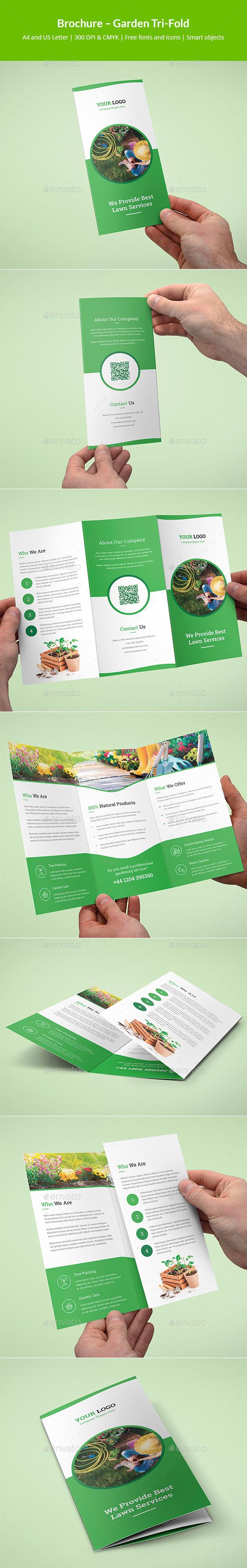 Brochure – Garden Tri-Fold - Corporate Brochures