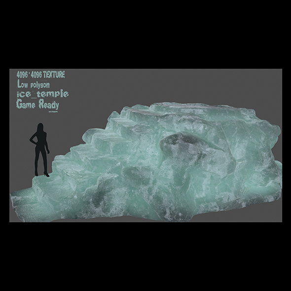 ice temple - 3DOcean Item for Sale