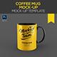 Coffee Mug Mockup Template - GraphicRiver Item for Sale
