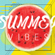 Summer Vibes Psd Flyer Template - GraphicRiver Item for Sale