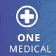 ONE Medical-PSD Template - ThemeForest Item for Sale