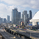 The Gardiner Expressway and the Rogers Center - VideoHive Item for Sale