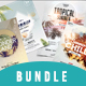 Summer Bundle - 4 PSD Flyer Templates - GraphicRiver Item for Sale