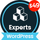 The Experts - Business Consulting and Professional Services WordPress Theme Nulled
