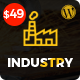Industry Press - Factory and Industrial Business WordPress Theme Nulled