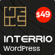 Interrio – WordPress Theme for Architecture, Construction and Interior Design Nulled