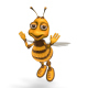 Ms. Bee Character - Animation Kit - VideoHive Item for Sale