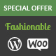 Fashionable - Creative Fashion WooCommerce WordPress Theme Nulled
