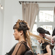 Gorgeous woman getting hair treatment at the hair salon - PhotoDune Item for Sale