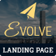 EVOLVE - Multipurpose Responsive HTML Landing Pages - ThemeForest Item for Sale