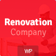 Renovation Company - Construction and Building WordPress Theme Nulled