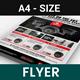 CCTV Camera Shop Flyer v3 - GraphicRiver Item for Sale