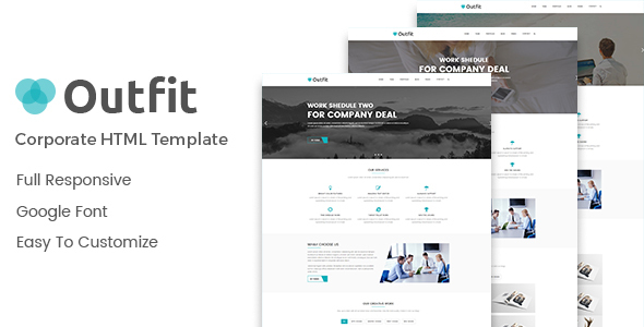 Outfit - Corporate HTML Template - Business Corporate
