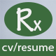 Rx-Resume Responsive Resume Template - ThemeForest Item for Sale