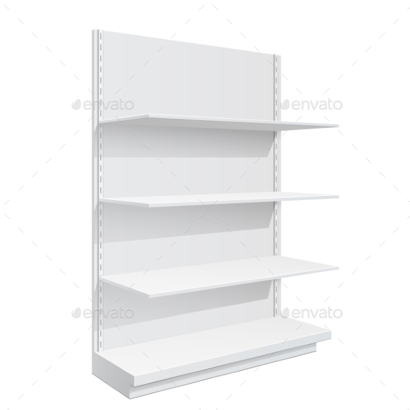 Display Rack Shelves for Supermarket - Retail Commercial / Shopping