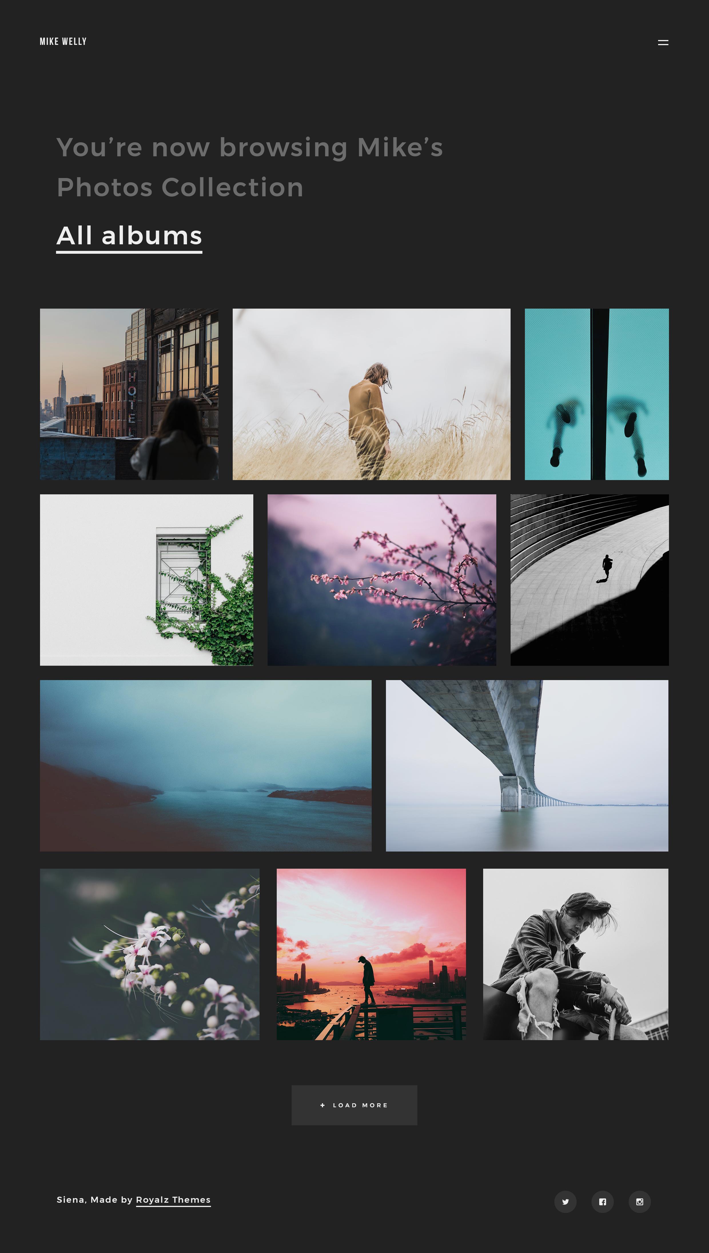 Fluxus - Portfolio Theme for Photographers   Photographer