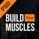 Fitness/Gym PSD Template Nulled