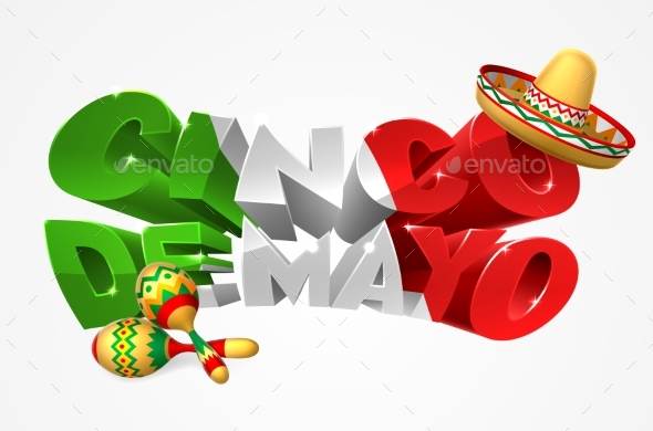 Happy Cinco De Mayo Design - Miscellaneous Seasons/Holidays